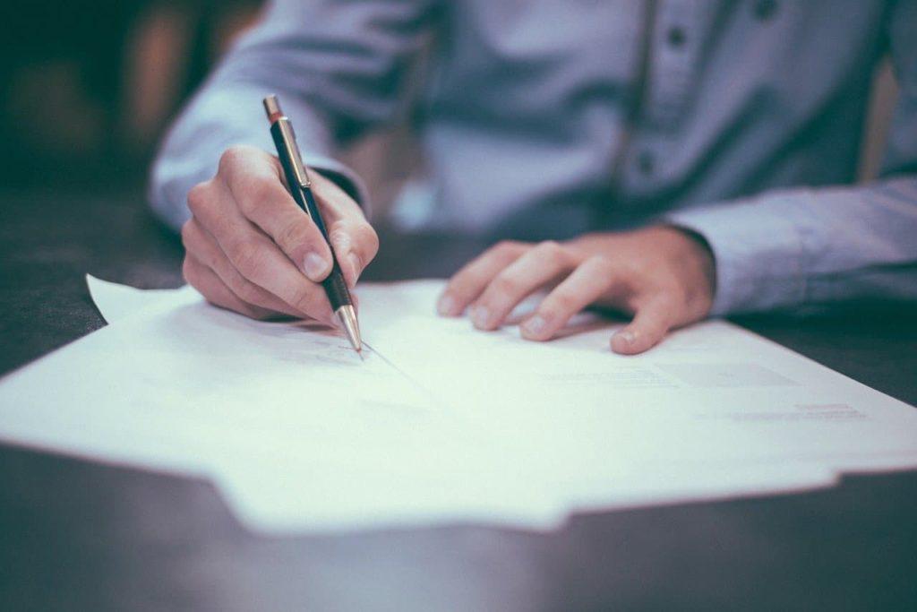 Signature crédit immobilier